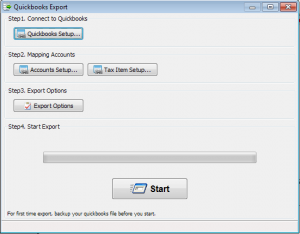 Export to Quickbooks